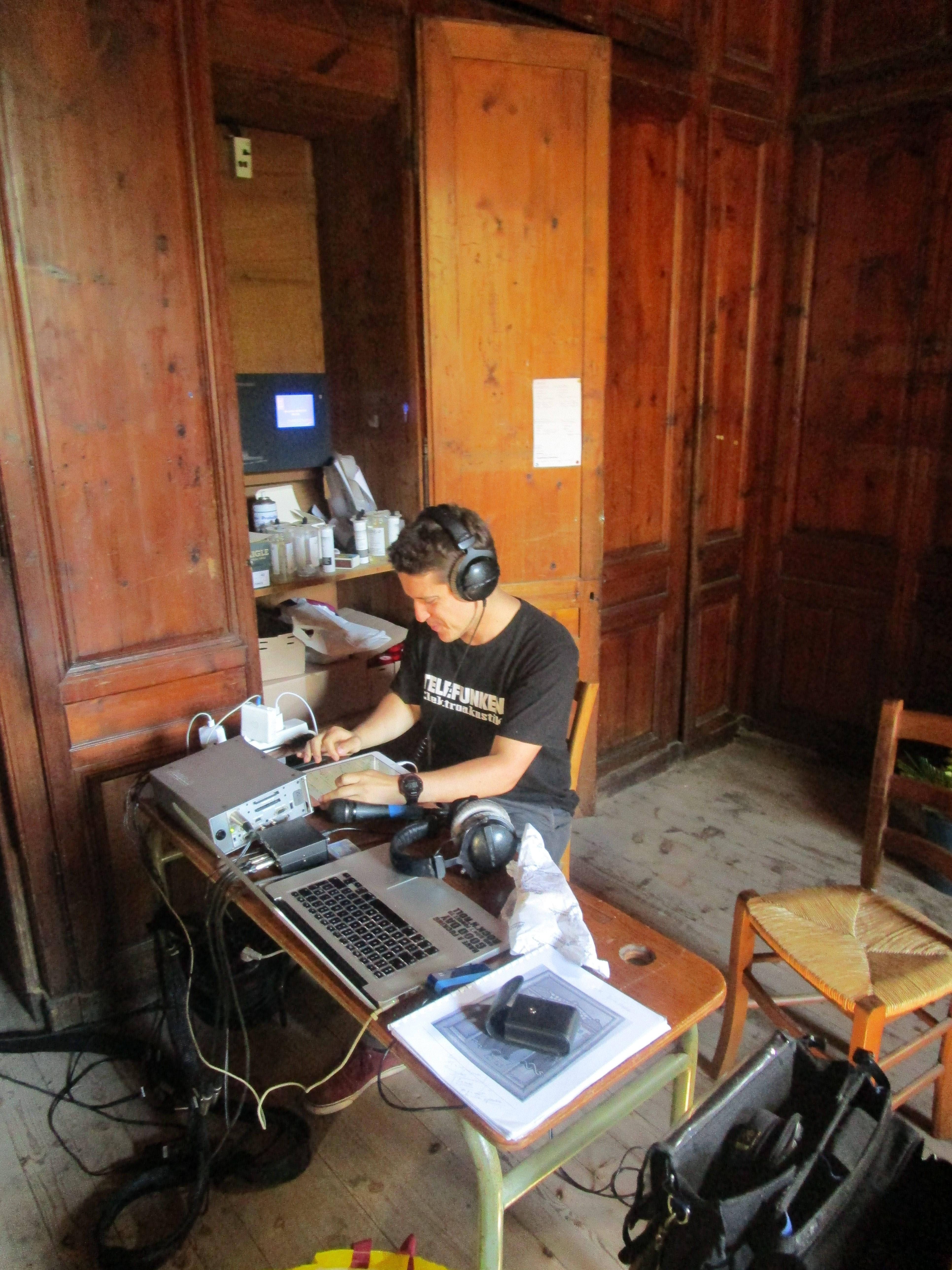 Sylvain Chiesa, ingénieur du son