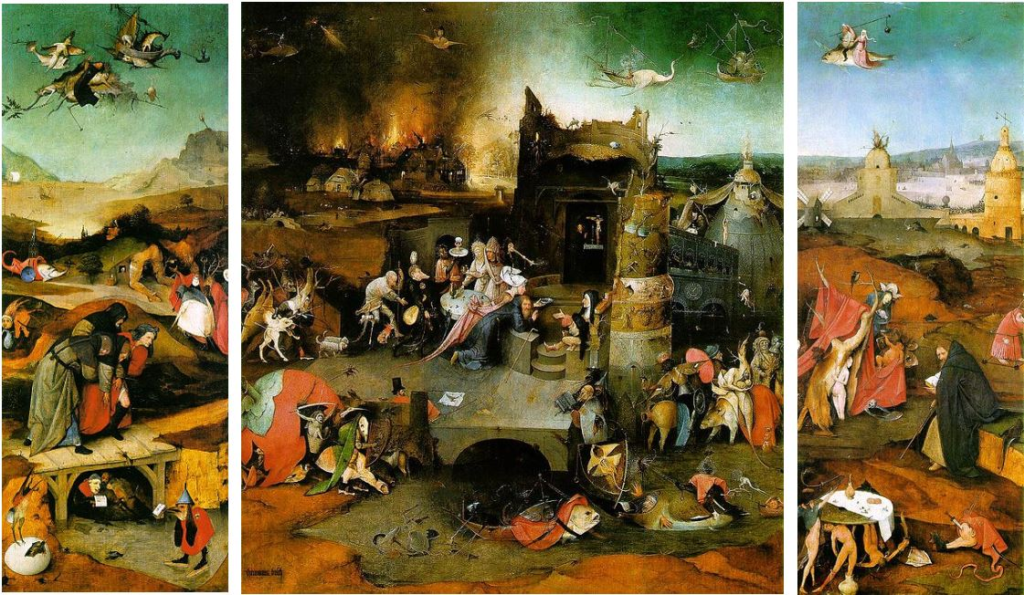 Jérôme Bosch – 1501 – Huile sur panneau de chêne - Musée national de Lisbonne