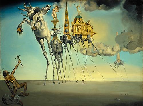 Salvador Dali – 1946 – Musées royaux des Beaux-Arts de Belgique