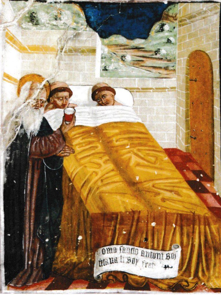 st antoine et le saint vinage